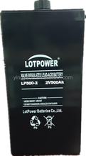 VRLA battery 2V 500AH for UPS/Inverter , Lead acid Battery with AGM, Rechargeable Battery