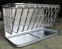 Hanging Large/Regular Size Hay feeder with trough