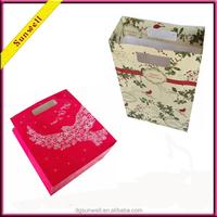 Dongguan wholesale strange gift bag packaging printing & mcdonald health food paper bag