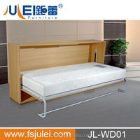 Handcrafted Wood Folding Up Murphy Wall Bed