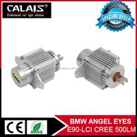 For B MW LED Angel Eyes Marker Halo rings bulbs for B MW E90 LCI 40W car led toyota headlight angel eye