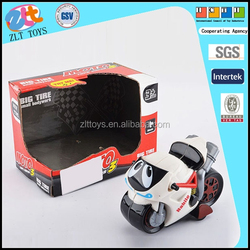 2015 new cartoon toy motorcycle, friction toy car