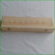 2015 Hand Fan Gift Wood Box Hot Sale