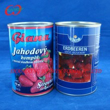Choice Grade Canned Strawberry,Canned Fruit