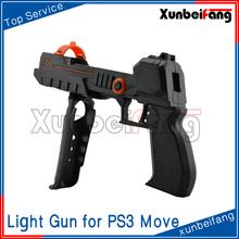 Precision Shot Light Gun Hands Pistol for PS3 Move Motion and Navigation Controller