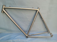 Factory sale titanium electric bike frame for road