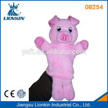 08254 Marioneta de cerdo de peluche