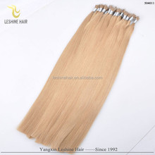 directly factory price alibaba certified italian glue wholesale double drawn nano ring Indian remy hair