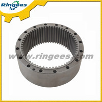 Top quality excavator parts swing gear ring / Swing reducer ring gear used for Volvo EC240BLC