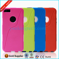 S-Line Silicon & Plastic Combo Robot Case For iPhone 5 5G