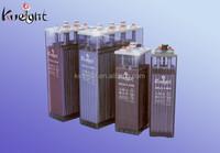 Flooded batteries 2V OPzS 2V1000ah battery with lead acid electrolyte for solar energy storage