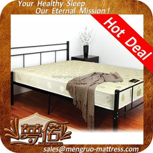 NPT(no pillow top) single roll up spring mattress wholesale suppliers