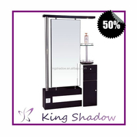 Western Luxury Design Mirror tv price Hair salon mirror statio Double side mirror