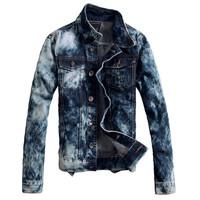 2015 Denim Jacket Man Outdoors Casual Jeans Jackets And Coats Outerwear Men Plus Size men overcoat