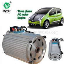 high quality 72v 6kw electric car hub motor 5kw