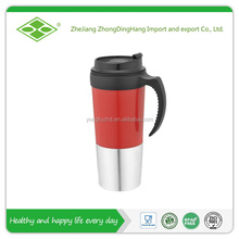 16oz plastic double wall custom thermal cups