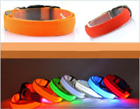 New arrival Wholesale led dog collar with LED collars