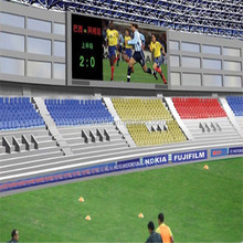 p10 led module stadium perimeter led screen module rechargeable battery powered led sign