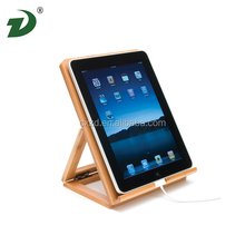 Real New Zealand Monterey Pine Wood For ipad Holder Stand