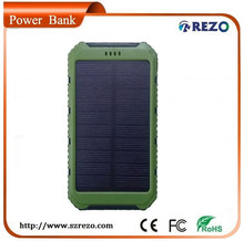 2015 New product mobile solar power bank 10000mAh Portable power pack