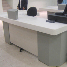 Solid surface Artificial Stone germany office furniture desk