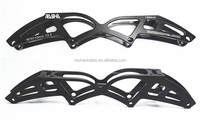 black color Aluminium Skate frame inline speed skate frame in stock