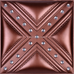 2015 New Building Material From China Factory High Quality Interior Decoration Soft PU Leather Wall Panel