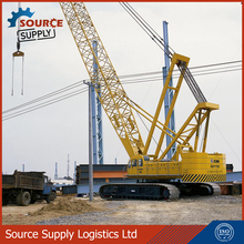 Best brand XCMG 55t mini crawler crane QUY55 with Max load moment 1994KN/m for sale