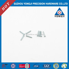 white and blue zinc coating, hot sale, China manufacturer, self-tapping screw