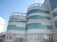 Aluminum Structural Glass Curtain Wall With Reflective Glass