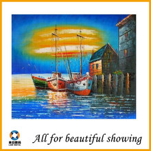 180g handpainted Matte scenery abstarct Polyester oil Canvas painting