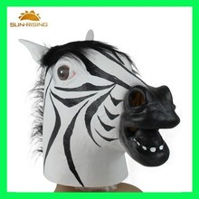 Party mask for men,zebra head party mask,animal head masks for party