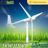 Residential rated output 5KW max 8KW domestic wind generator