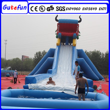 GUTEFUN 2015 hot sale giant commercial large inflatable water slide