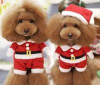 christmas design apparel Pet dog Costumes wholesale Dog clothes
