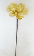 EVA artificial Alocasia flower of single stem for decoration