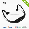 sports stereo wireless bluetooth headset for india market