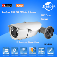 Japan Camera China Top 10 CCTV Camera Factory Metal Case 1080P AHD