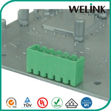 3.81mm pcb base strip with THR/THT/SMD mounting