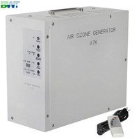 7000 mg/h air ozone machine for clean air and remove odor with repeat timer