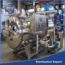 Automatic spray type industrial autoclave sterilization machine