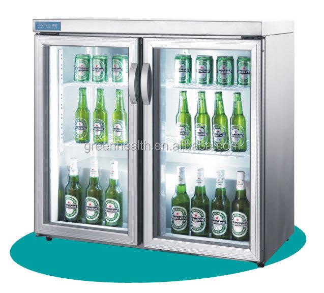 used glass door beverage cooler 1