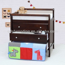 Antiquing painted cabinets /adult baby changing table/wholesale wooden chest of drawers