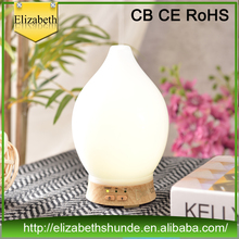 Glass & wooden aroma air purifier Fragrance oil diffuser