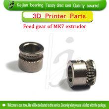 Extruder Extrusion Wheel Gear Squeeze Head For 1.75MM Filament 3D Printer Reprap MK7 Drive Gear