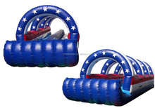 high quality Commercial USA Inflatable Slip And Slide USA inflatable slip and slide