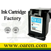 Cartuchos de tinta reciclado negro y color compatible con HP 350 XL CB336EE & HP 351 XL CB338EE