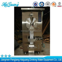 New design high quality water pack water sachet packing factory