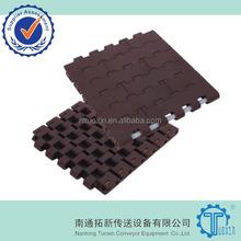Flat Top 1400 plastic modular conveyor belts for food