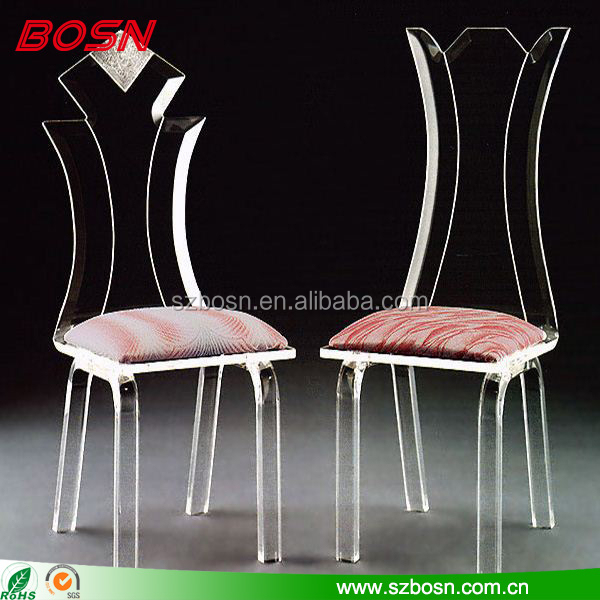wholesale modern luxury clear acrylic chair